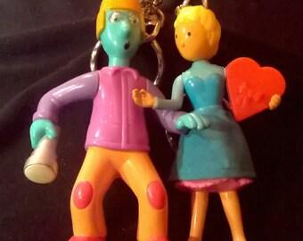 Doug and Patti Keychain