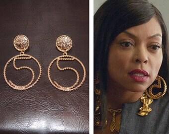 Chanel Inspired #5 Statement Earrings