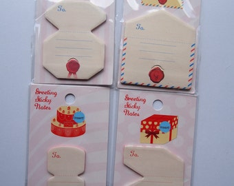 50% OFF SALE! Gift Card Sticky Note Tags