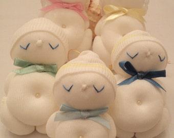 Sock Baby Doll, Stuffed Sock Doll, Stuffed Sock Baby, Baby Shower Gift, Baby Shower Decor, Baby Decor