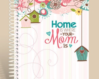 Home is where MOM is / Personalized Journal / Prayer Journal
