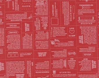 Volume II Novelty Define Apple Red - 1 yd