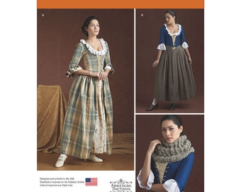 Simplicity Sewing Pattern 8161 Misses' 18th Century Costumes