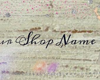 Fairy Sprinkles Customized Shop Banner