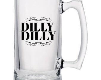Dilly Dilly Beer Mugs