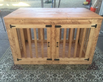 XL French Door Dog Kennel