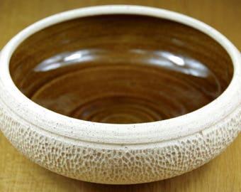 Ceramic Bowl Handmade in Stoneware, Centrepiece, Pottery Bowl, Salad Bowl, Serving Bowl
