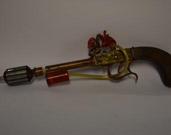 steampunk gun, gun fake steampunk