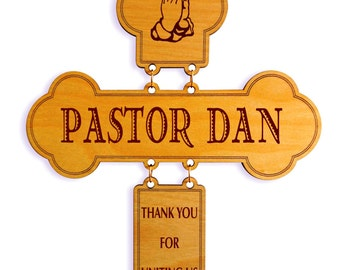 Gift for Wedding Officiant-Gifts for Pastor Personalized Thank You For Marrying Us-Gift for Wedding Minister, DWO004
