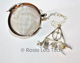Harry Potter Inspired Tea Infuser - Tea Ball - Literature Tea Infuser - Literature - Bookish - Magic - Fantasy