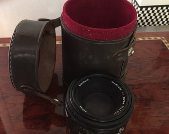 Misc., 35mm Camera Lenses.  As shown no additional information available.