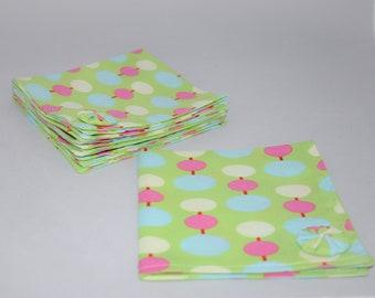 "Cloth Napkins With Embellishment Set of 4 (10"")"
