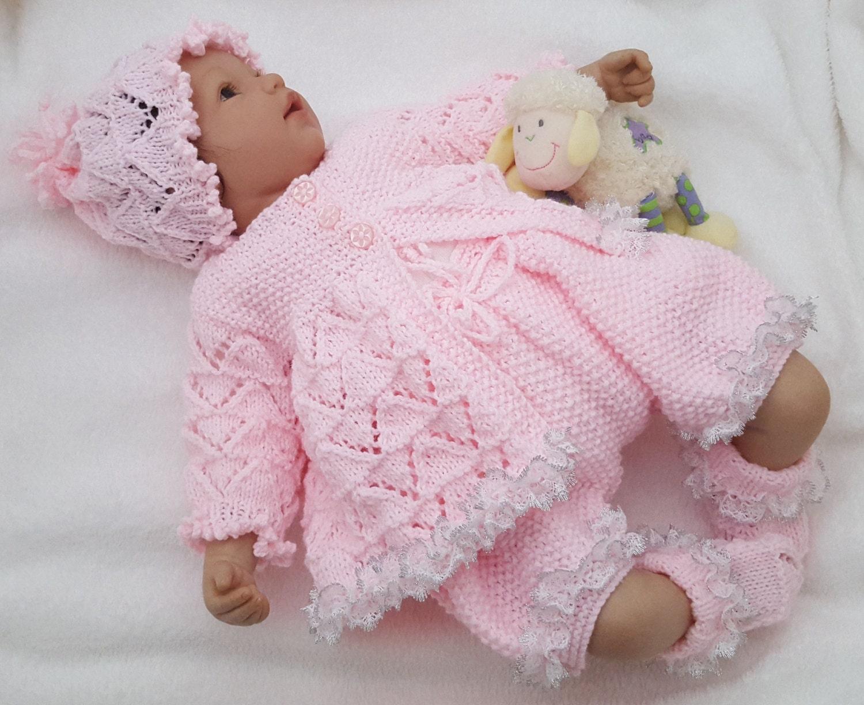 Baby Knitting Pattern Download PDF Knitting Pattern Girls