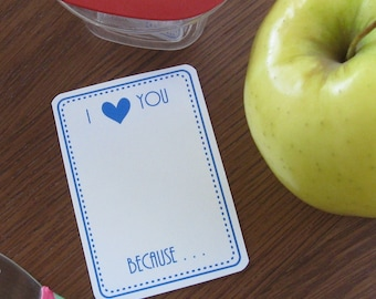 DIGITAL - Lunchbox Notes - I Love You Because