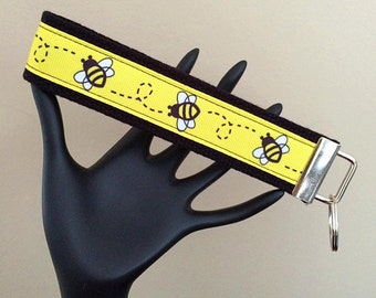 Wrist Strap Key Fob/Bee