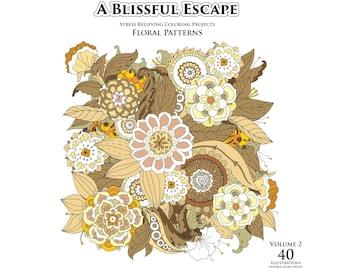 A Blissful Escape - Vol. 2 - Floral Patterns