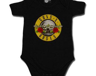 Baby rompers, Guns N Roses bullet