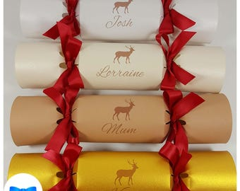 Reindeer names etsy personalised reindeer christmas crackers kit fill your own make your own crackers scandinavian nordic solutioingenieria Image collections