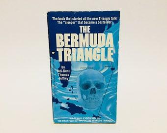 Vintage Non-Fiction Book The Bermuda Triangle by Adi-Kent Thomas Jeffrey 1975 Paperback