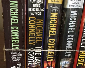 Book, Michael Connelly Novels, Retro, Seven 7, Mystery, Fiction, Paperbacks, Books,Antique Discoveries