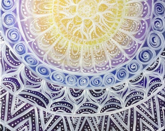 Mandala Dream Catcher Intuitive Painting
