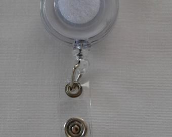 Reel badge holder