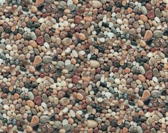 Landscape Medley - Small Pebbles Fabric - Elizabeth's Studio Fabrics- 100% Cotton Fabric