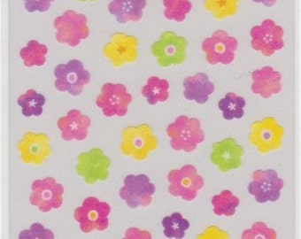 Flower Stickers - Masking Stickers - Mind Wave - Reference H3320