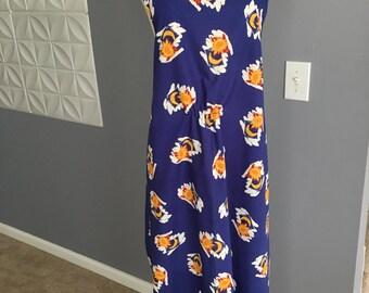 Full length Apron, Vintage style apron, Woman's Apron, Pinafore