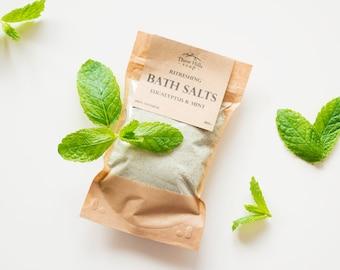 Herbal Bath Salts,Herbal Bath Soak,Bath Soak,Natural Bath Salts, Spa,Detox Bath Salts,Bath Salts with Milk,Coconut Milk Bath,Flu Bath Salts