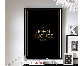 Opening Credits - ('John Hughes') Wall Art