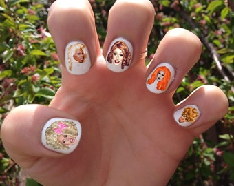 RuPaul's Drag Race Nail Decals Transfer Nail Stickers