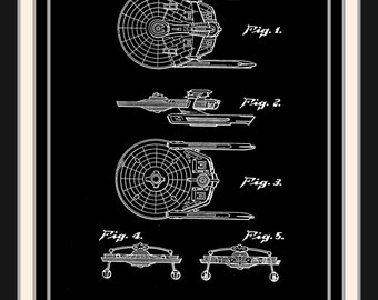 Star Trek Patent Print: Star Trek Enterprise Patent, Star trek posters, Star Trek patent art, Star Trek Art,  Trekkie posters, Trekkie Gift