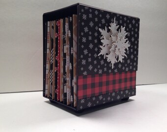 Boxed Accordion Album Pattern with Video Tutorials