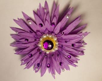 1 Purple & White style Pen