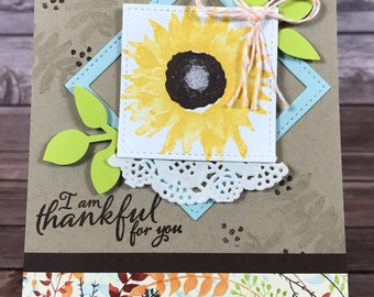 Fall- Thankful for You Autumn Harvest Card Class Kit