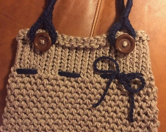 Small Knit Hand Bag
