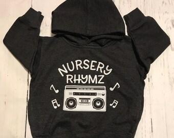 Nursery Rhymz | Funny Toddler Hoodie/Sweatshirt