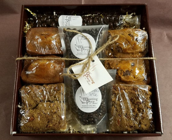 Gluten free breakfast gift basket coffee homemade baked negle Image collections