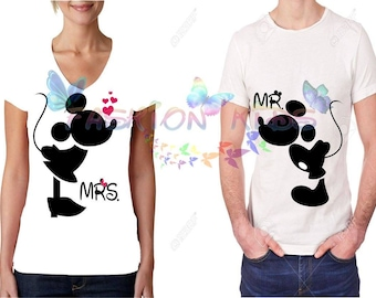 Duo-Paired T-shirt (Miki and mini)