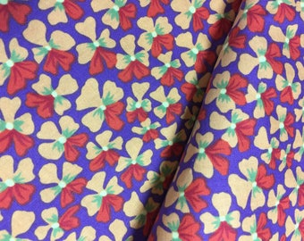 Kaffe Fassett Fabric -Violets PWGP 123  Phillip Jacobs - 100% Quality Cotton OOP and Rare Yardage