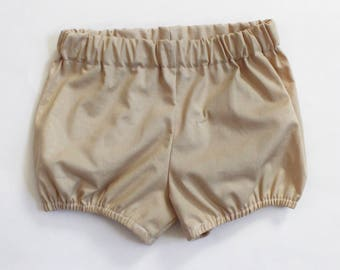 Khaki Bloomers / Bloomers / Baby Bloomers / Cotton Baby Bloomers / Bubble Shorts