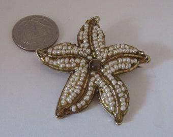 Liz Clairborne Vintage Starfish Brooch