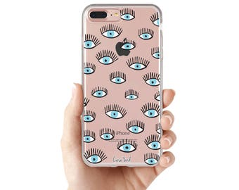 iPhone 8 Case Clear iPhone 8 Plus Case iPhone X Case iPhone 7 Plus case Clear iPhone 7 Case iPhone 6 Case Samsung S8 Case,All Seeing Eyes