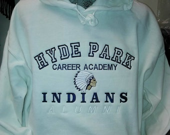 Hyde Park Embroidered Hoody
