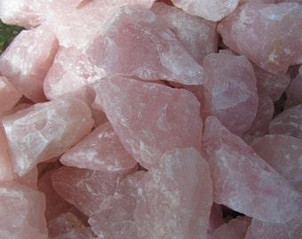 Rose Quartz Chunk