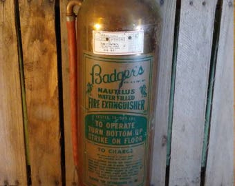 Badgers Fire Extinguisher