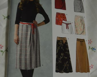 New Look 6650 Misses Skirt  Sewing Pattern - UNCUT - Size 8 - 18