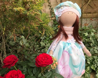 Textil Handmade Doll Tilda Rag Unique Collection Art Doll Decoration Doll Interior Doll Art Doll Collectable Baby Doll