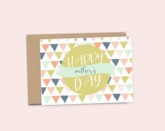 SALE**  Happy Mother's Day printable Card